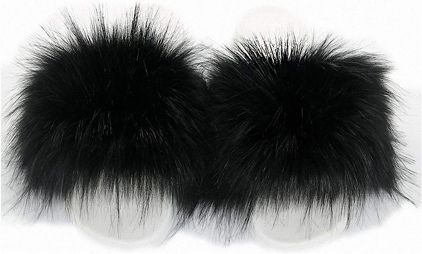 Price reduction Zyhoi Winter Faux Fur Slippers S Fox Indefinitely Women Slides Fluffy