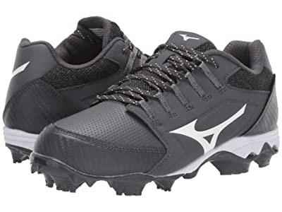 Mizuno 9-Spike Advanced Finch Elite 4 (Grey/White) Women