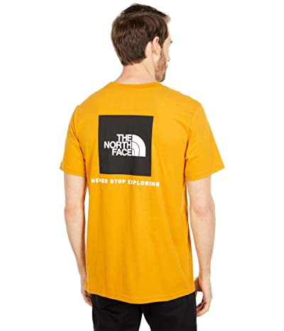 The North Face Box Nse Short Sleeve Tee (Citrine Yellow) Men