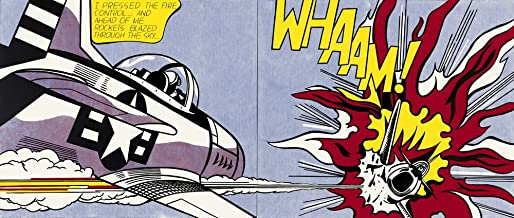 Berkin Arts Roy Lichtenstein Giclee Canvas Print Paintings Poster Reproduction (Whaam)