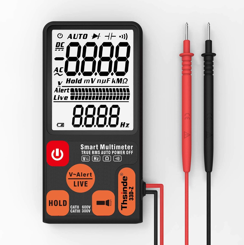 LCD Digital Multimeter Zählungen Hintergrundbeleuchtung Automatisches DC//AC