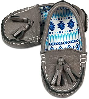 701822963947 Little Monkey Fashion Unisex Toddler Leather Shoes | Boy and Girl Baby Pattern Moccasins |
