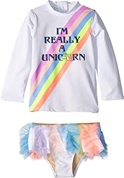 Really A Unicorn Rashguard Set (Infant/Toddler)