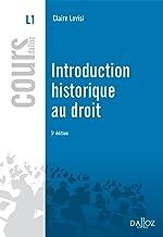 Livres Introduction historique au droit - 5e ed. PDF