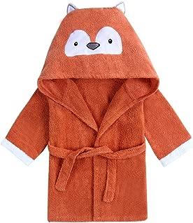 KKPOU Peignoir de bain Minnie Mickey pour b/éb/é en flanelle douce /à capuche pour gar/çon et fille Orange