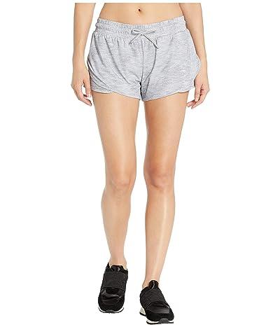 Lorna Jane Crusade Run Shorts (Grey Marl) Women