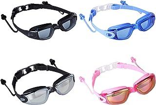 Romoc Adult Swimming Goggles,No Leaking,Anti Fog,UV...