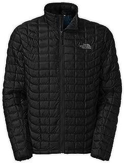 Men's Thermoball Full Zip Jacket, TNF Black/Bomber Blue Floral Camo Print, LG