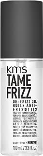 KMS TAMEFRIZZ De-Frizz Oil, Frizz and Humidity Control, 3.3 fl oz