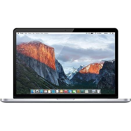 """Apple MacBook Pro 15.4"""" (i7-4980hq 2.8ghz 16gb 1tb SSD) QWERTY U.S Teclado MJLQ2LL/A Mitad 2015 Plata (Reacondicionado)"""
