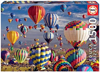 Educa Borras 17977 Heißluftballons Hot Air Balloons 1500 Piece Jigsaw Puzzle, Multi
