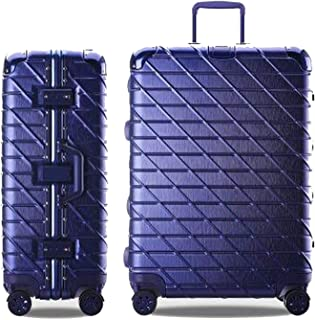 Aluminum Frame Travel Suitcase Rolling Spinner Luggage 20/29Inch Carry-On Suitcase With Wheel,B,24