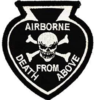 EagleEmblems PM0276 Patch-Death from above (3.125'')