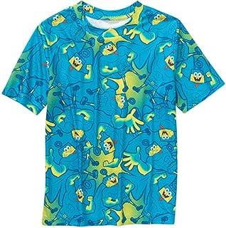 Spongebob Squarepants Short Sleeve Little & Big Boys Poly Tee T-Shirt