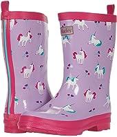 Playful Unicorns Shiny Rain Boots (Toddler/Little Kid)