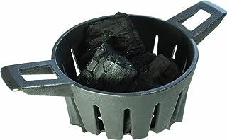 Broil King KA5565 Keg Caddie Charcoal Basket, Black