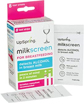 Explore alcohol test strips for breastfeeding
