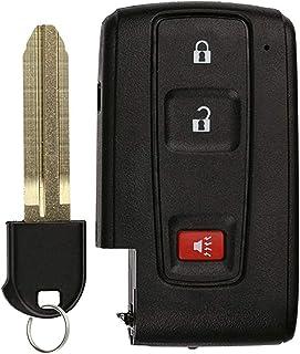 KeylessOption Keyless Entry Remote Smart Car Key Fob for Toyota Prius 2004-2009 FCC ID: MOZB31EG (DIY Step-by-Step Program...