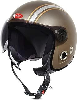 ACTIVE JET STICKER Open Face Helmet (SILVER)