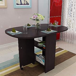 Amazon It 6 Ovale Tavoli Da Sala Da Pranzo Sala Da Pranzo Casa E Cucina