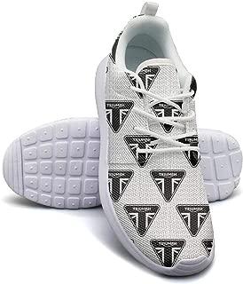 Student Flat Bottom Triumph-Bonneville-for-Sale-White-Logo- Simple Sports Shoes Fitness Shoe