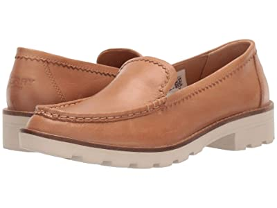 Sperry A/O Lug Loafer Leather (Tan) Women