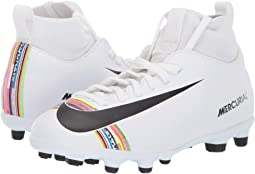 85a55579e White Black White. 60. Nike Kids. Mercurial Superfly 6 Club CR7 Soccer ...