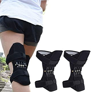 GBHJJ knäbooster, knästöd knäskydd, knäskydd booster gammalt knälband för vandring, löpning, klättring trappor, gym knäböj...