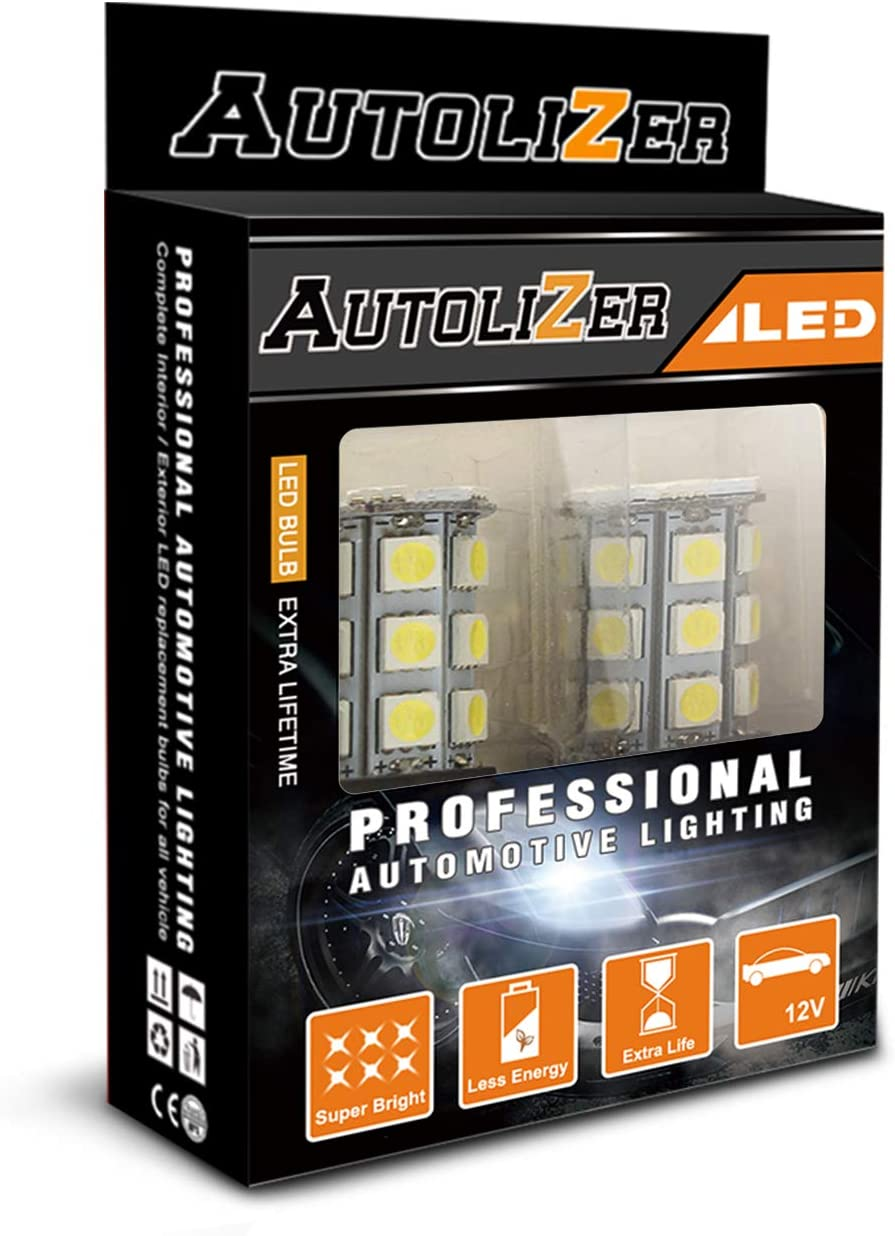 Autolizer 1156 BAY15S 27-SMD 5050 Bulbs Sales results No. 1 LED Replacement - Blue shop