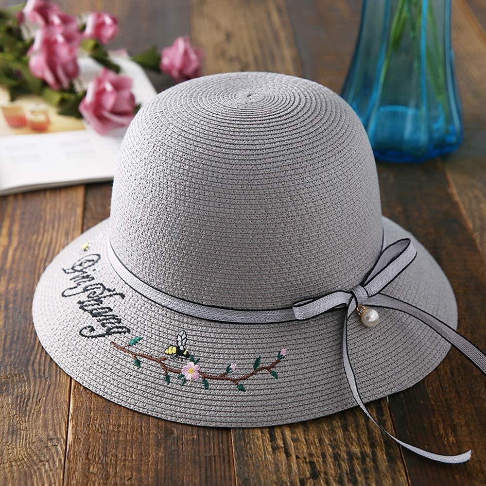 YD Hat - Women's Straw Cheap Cheap sale mail order shopping Summer Folding UV Protection Travel S