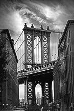 Posterazzi Collection Manhattan Bridge Poster Print by Jessica Jenney (36 x 24)