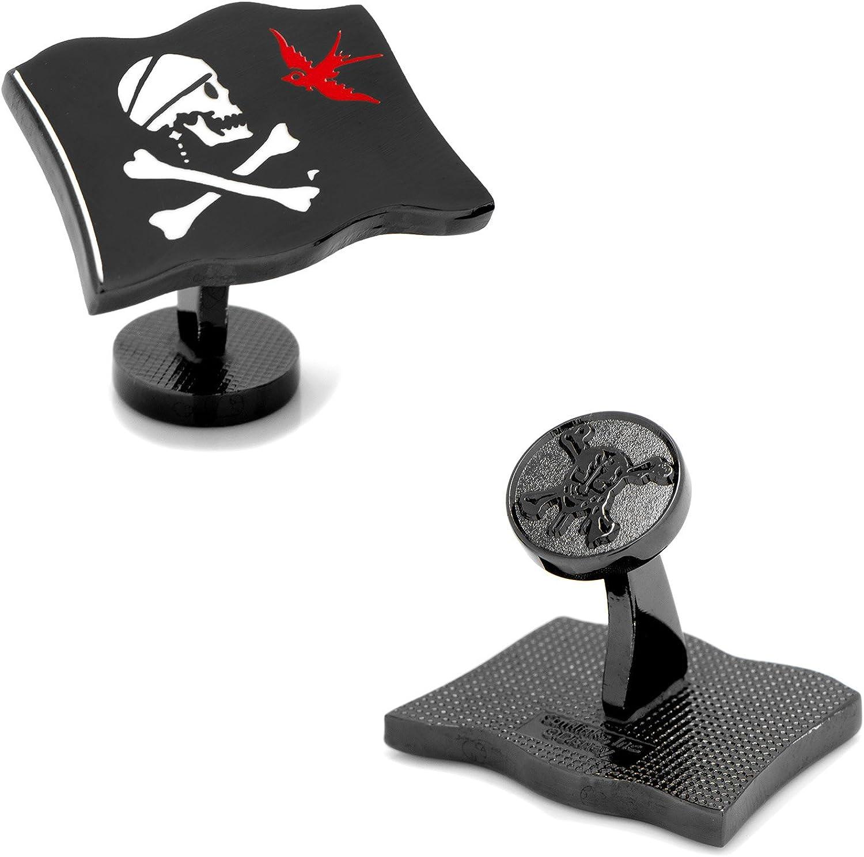 Jack Sparrow Flag Cufflinks