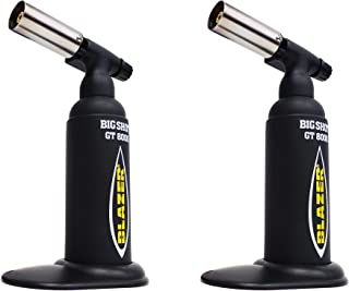 Blazer GT8000 Big Shot Butane Torch (Black - 2 Pack)