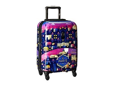 Heys America Aldo Crusher Twilight 21 Spinner (Multicolor) Luggage