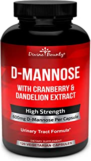 d mannose yeast infection