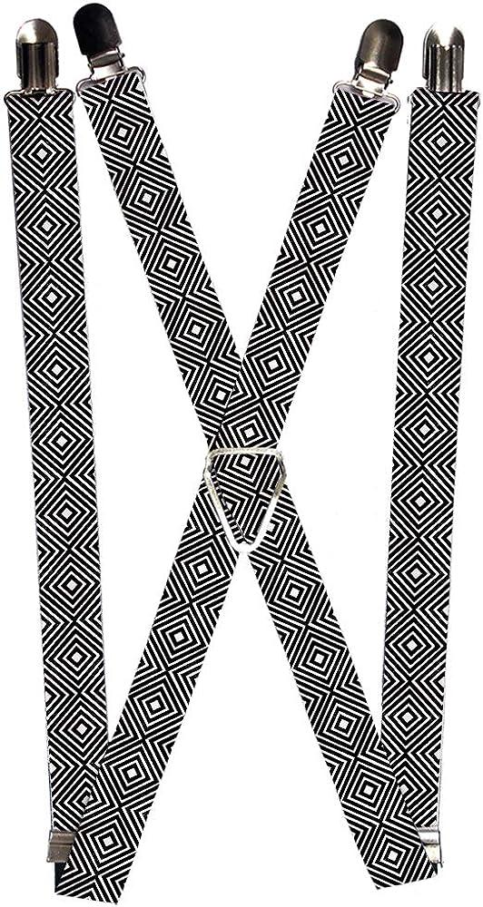Buckle-Down Suspender - Squares