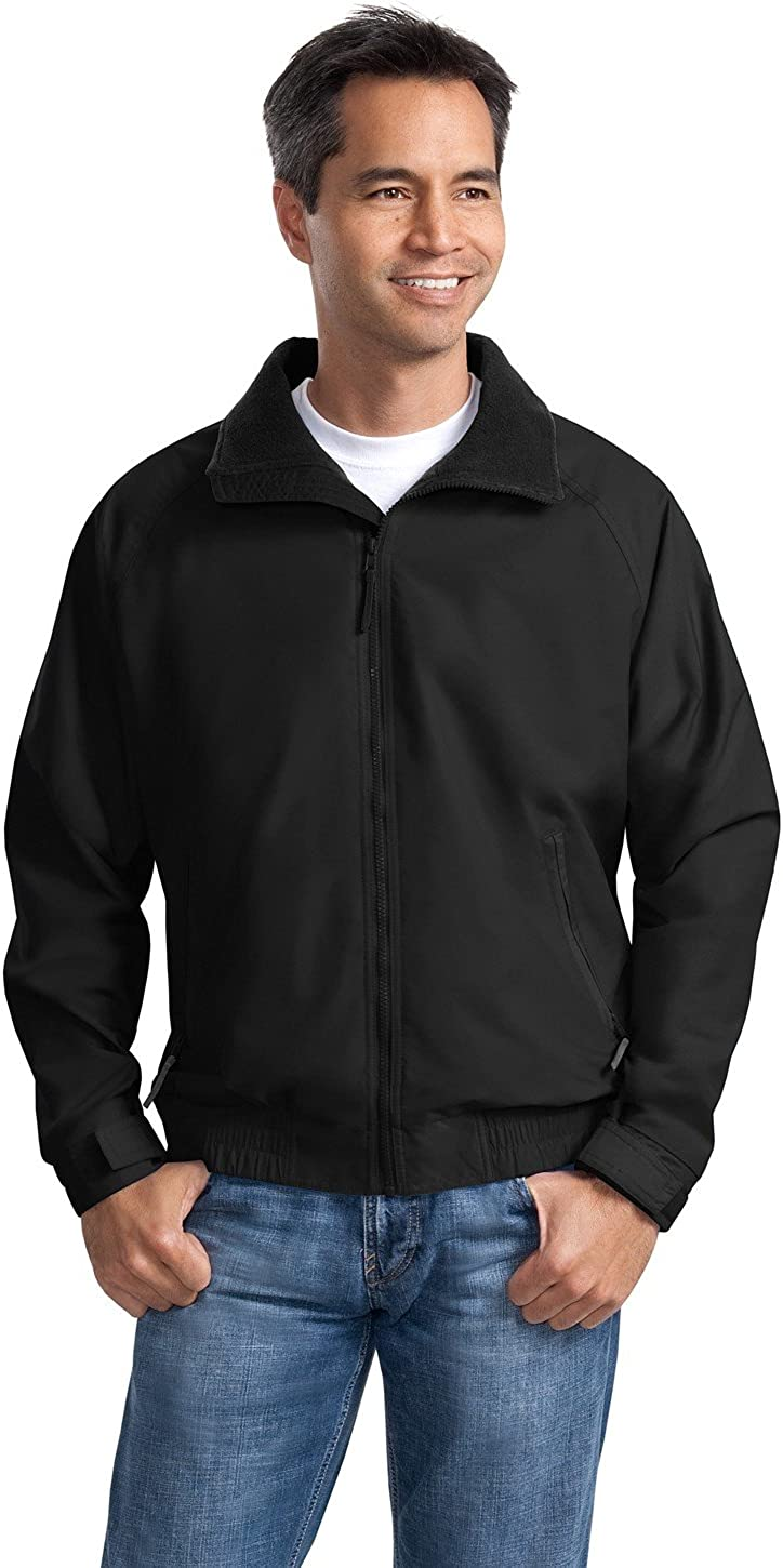 Port Authority Men's Tall Competitor Jacket 3XLT Tr Blk/Tr Blk