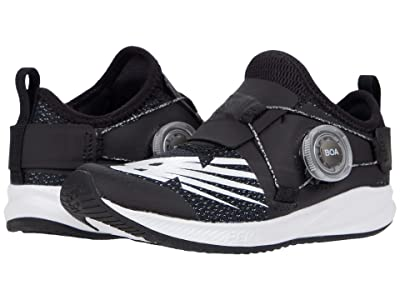 New Balance Kids FuelCore Reveal (Little Kid) (Black/White) Boys Shoes
