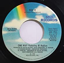 One way featuring Al Hudson 45 RPM pop it / I''m in love with lovin'' you