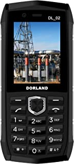 DORLAND DL_02 Explosion-Proof Mobile Phone,IP68 Rugged Smartphone, Intrinsically Safe for Oil & Gas Industry and Hazardous Areas, Waterproof Dustproof Shockproof, Dual SIM