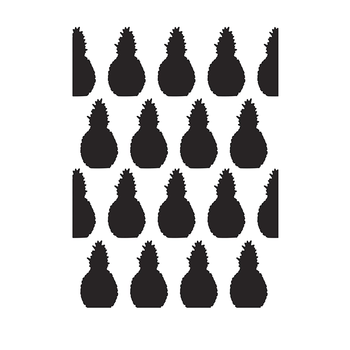 Darice Pineapple, 4.25 x 5.75 inches Embossing Folder, Clear