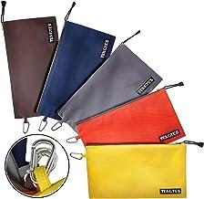 Bolsa de ferramentas com zíper de lona, pacote com 5 sacos utilitários de 31,75 x 17,78 cm, 473 ml Bolsa de ferramentas co...
