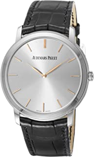 [オーデマ ピゲ]AUDEMARS PIGUET 腕時計 エクストラシン シルバー文字盤 15180BC.OO.A002CR.01 メンズ 【並行輸入品】