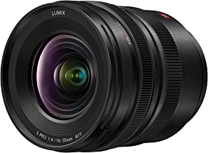Panasonic Lumix S Pro 16-35mm F4 Wide Zoom Lens, Full-Frame L Mount, Dust/Splash/Freeze-Resistant for Lumix S Series Mirrorless Cameras - S-R1635 (USA)