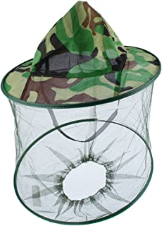 保護帽子 ヘッドフェイス プロテクター 害虫駆除 蚊・ハチ除け 農作業用 ガーデニング帽子 養蜂 草刈り アウトドアなど対応