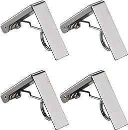 ZoomSky 4 Pcs Pince pour Nappe, Clip Nappe de Tabl