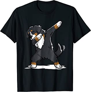Bernese Mountain Dog T-Shirt Dab Dance Gift Shirt