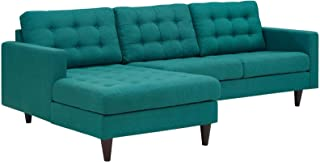 mid century modern sectional affordable