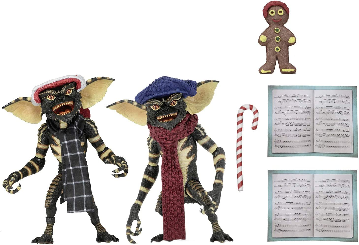 Gremlins - Pack Max 84% OFF 2 Figurines Carol Scene Winter 15cm Purchase Christmas