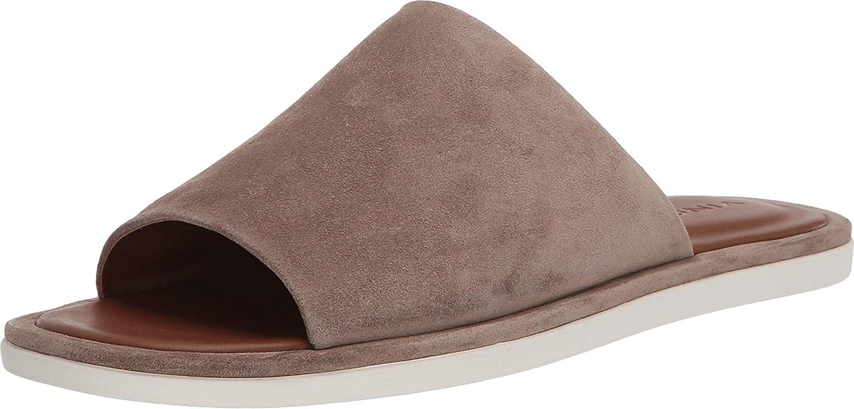 Vince Mens Slip on Flat Sandal